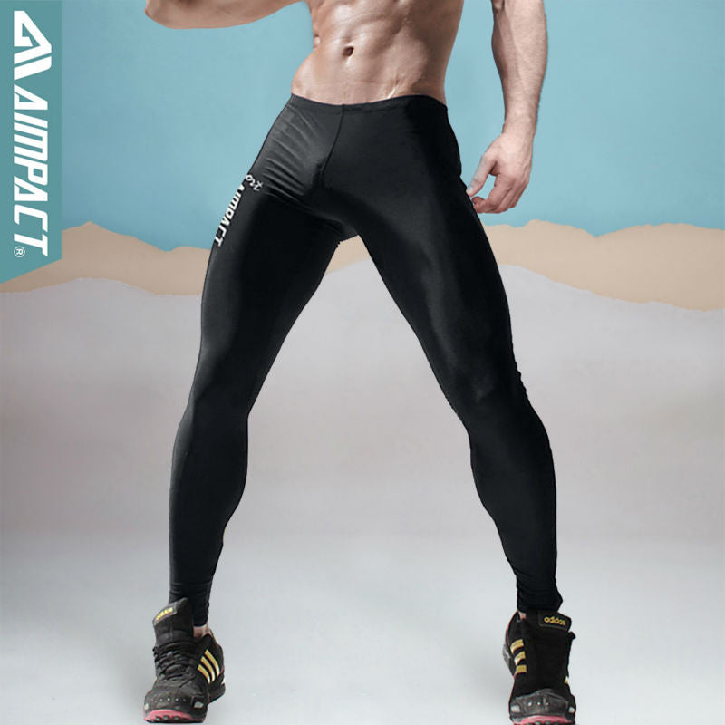 Aimpact New Fashion Men S Sexy Tight Pants Slim Fitted Active Pants Cr