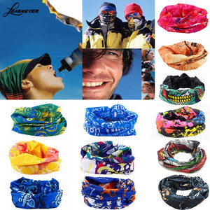 Bandana Face Mask Multi Scarf Tube Mask Cap Sport Bicycle Riding Supplies Magic Headband Sports Scarves Cycle Scarves D01813
