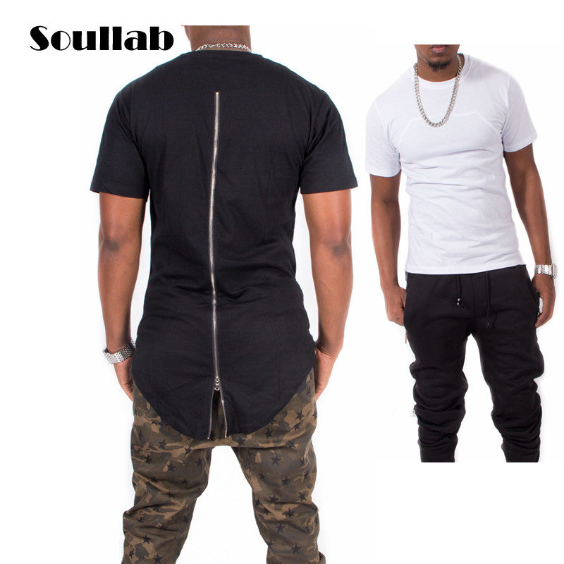 4482c0178 Black/White/Red Plaid XXXL Long Back Zipper Streetwear Swag Man Hip Hop  Skateboard ...