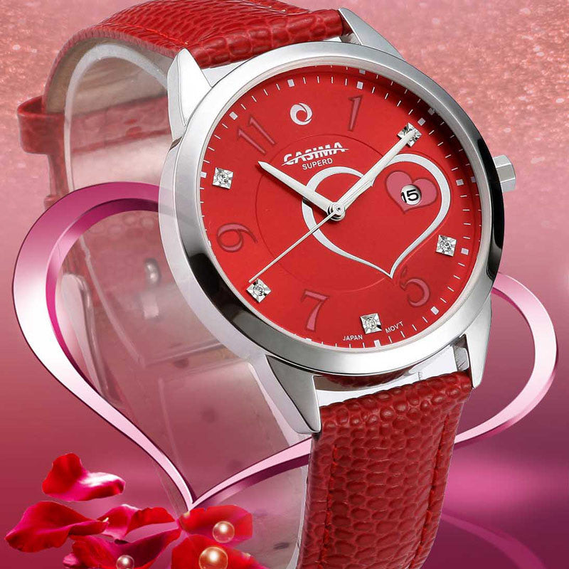 CASIMA luxury brand watches women fashion beauty crystal table casual