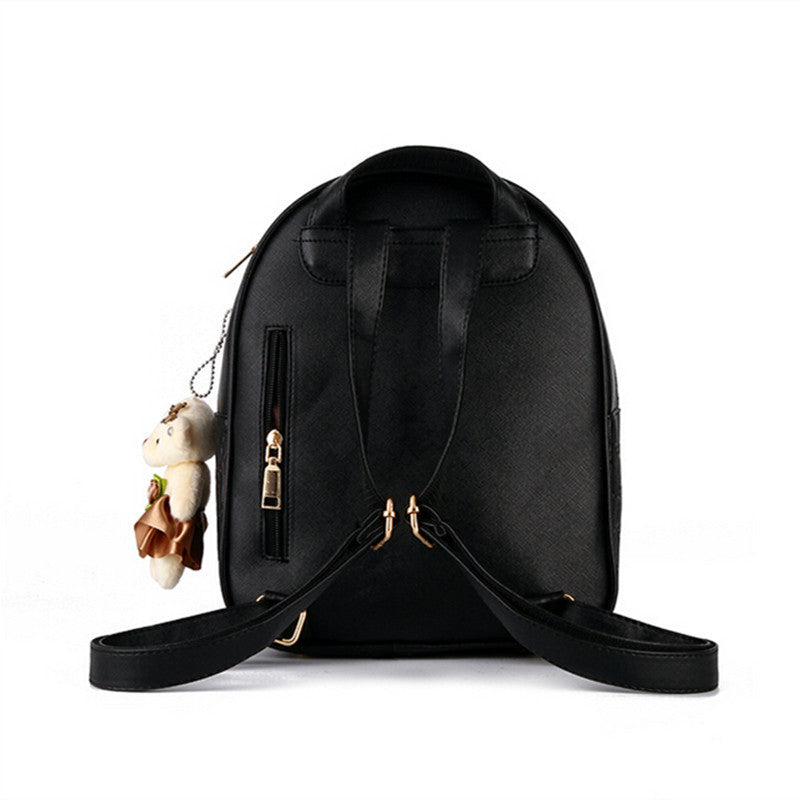 58ffedefbf3e ... COOL WALKER NEW Fashion Designed Brand Backpack Women Backpack Leather  School Bag Women Casual Style Backpacks ...