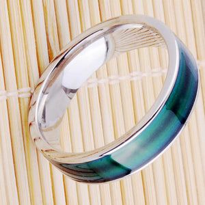 Color Change Mood Ring Creative Emotion Temperature Feeling Rings Stainless Steel Ring Men Rings For  Women Party Gift