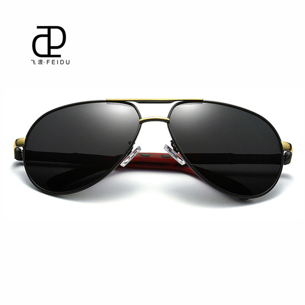 ac020273823 ... FEIDU High Quality HD Polarized Sunglasses Men Classic Brand Retro  Coating Mirror Sun Glasses for Male ...