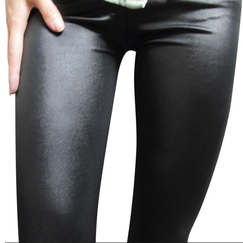 bd74669546803 ... Faux Leather Leggings Navy Blue Sexy Women Leggins Thin Black Leggings  Calzas Mujer Leggins Leggings Plus ...