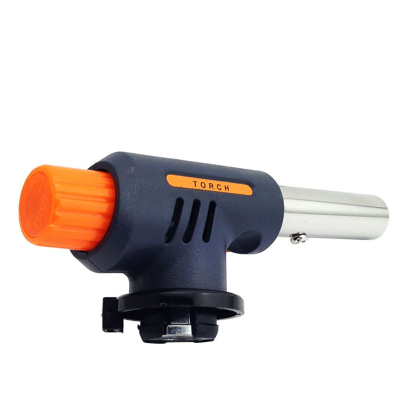 Gas Torch Flamethrower Burner Auto Ignition Camping Welding BBQ Outdoor