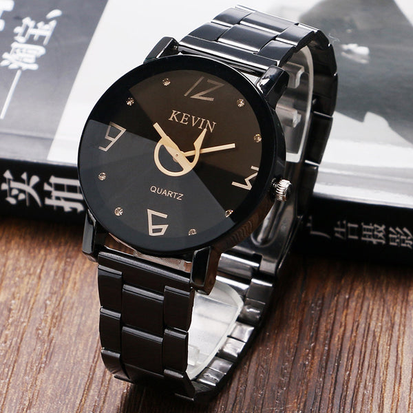 Gentleman Suits Business Men Wrist Watches Stainless Steel