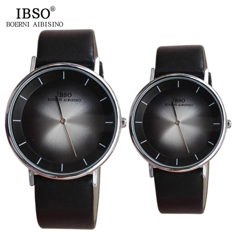 9cd1092091fe IBSO 2016 Casual Couples Quartz Watches Fashion Shock Resistant Relogio  Masculino Date High Quality Hardlex Lovers