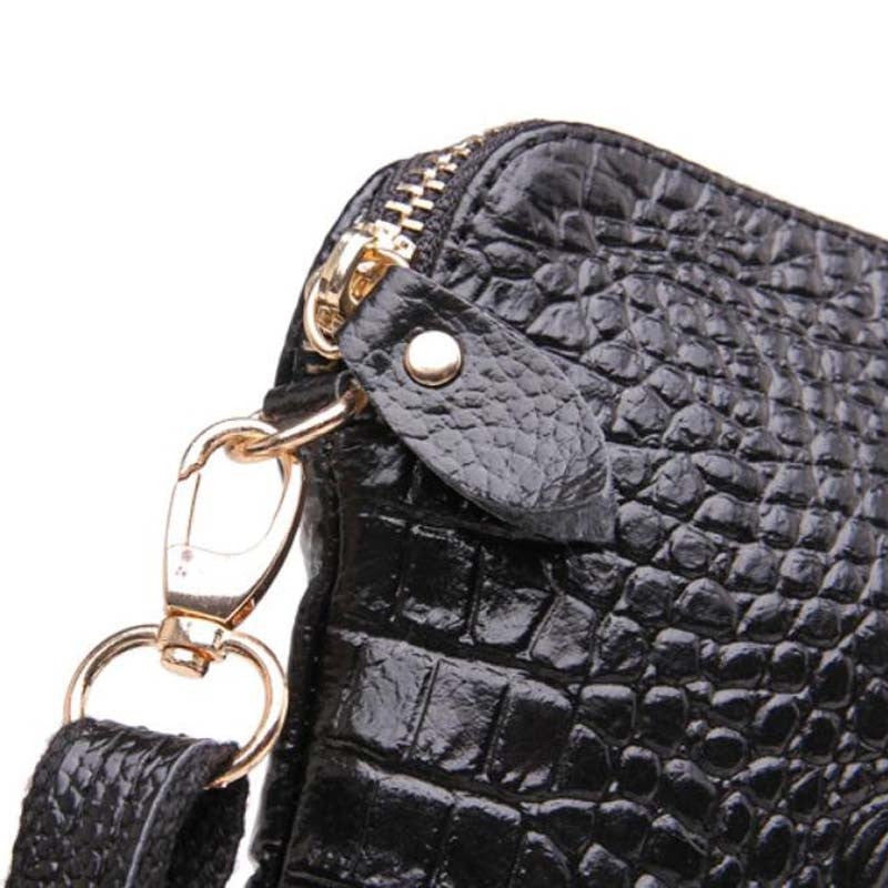 7473066830 Ipad Mini Bags New Arrival Bag Fashion Genuine Leather Handbags Women  Aligator Clutch Bag Messenger Shoulder