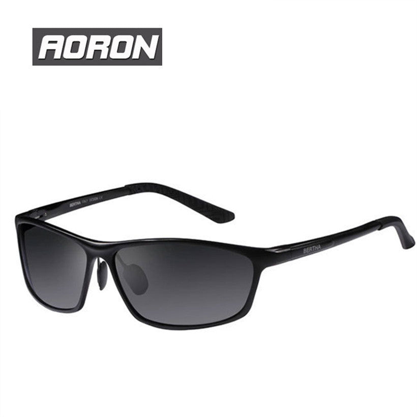 976d8df6c3 ... Luxury Brand Aoron Mens Alloy Frame Polarized Sunglasses For Driving  EyewaerMale Original Famous UV400 Sun Glasses ...