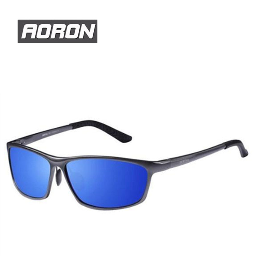 0d3d041a4b Luxury Brand Aoron Mens Alloy Frame Polarized Sunglasses For Driving E –  Raja