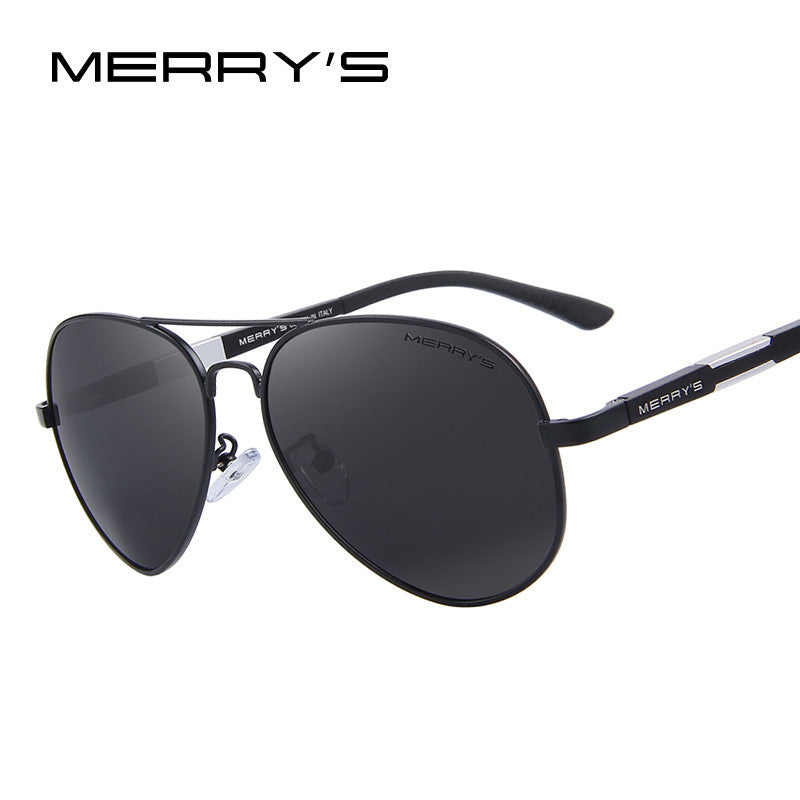 1c3e127b5f3f1 MERRY S Men HD Polarized Sunglasses Aluminum Magnesium Driving Sun Gla –  Raja Indonesia