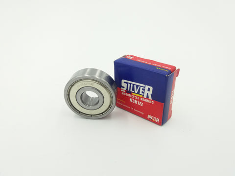 Silver Motorcycle Bearing