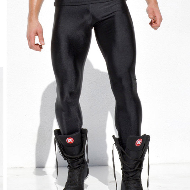 Men High Stretch Tight Pants Long Pants Legging Pant Brand Sexy Design