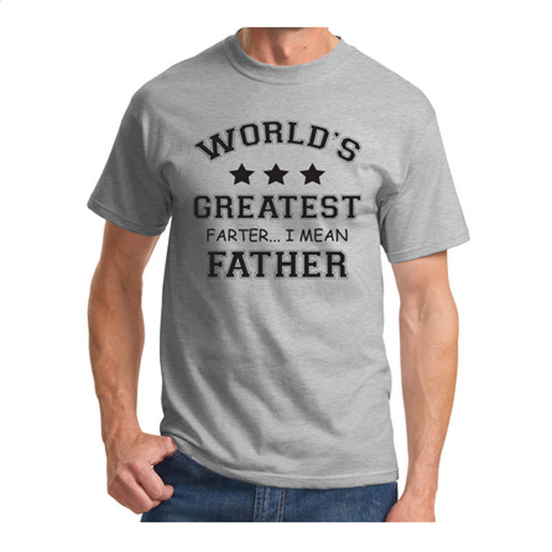 8bf7bb79 ... Mens T Shirts Worlds Greatest Farter Funny Fathers Day Tshirt New Dad  Gift Tee Poop Humor ...