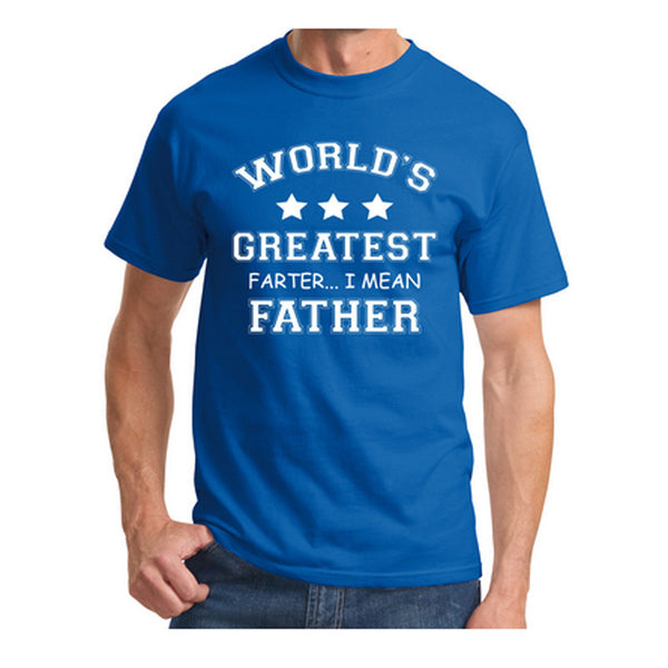 mens t shirts worlds greatest farter funny fathers day tshirt new