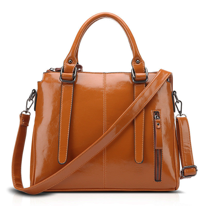 9645b2730a0d NO.1 NEW 2016 Leather Bags For Women Fashion Leather Handbag Retro Famous  Brand Bag ...