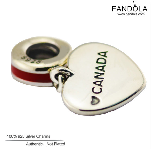 e4148310d ... cheap new sterling silver jewelry canada heart flag charm silver 925  beads for jewelry making e4560