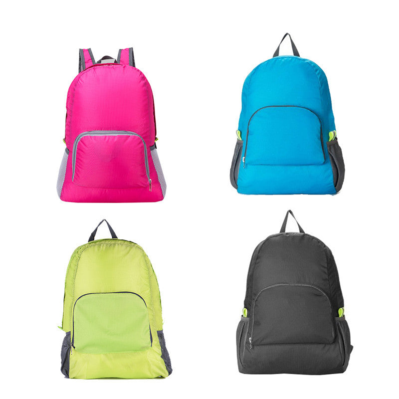 Outdoor Waterproof Hiking Camping Backpack Travel Fold-able Mountaineering Bag