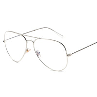 ROYAL GIRL Fashion Women Glasses Frames Men Brand Eyeglasses 3026 Gold Shield Frame With Glasses SS073