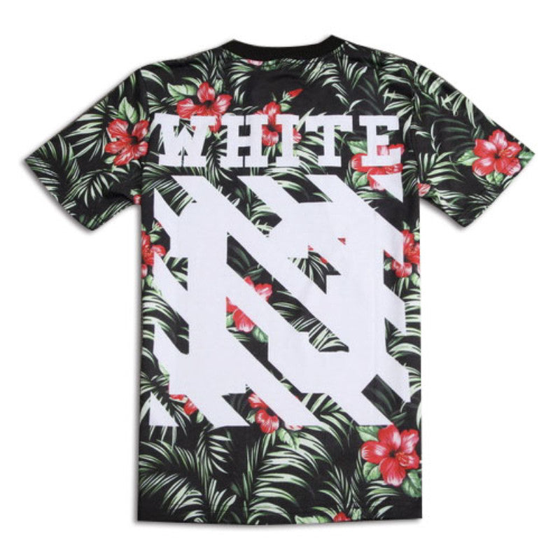 eeb276f9a277 ... Raisevern 2017 New Style Off White T Shirt 3d Print White 13 Printing  Mens Tee Tops ...