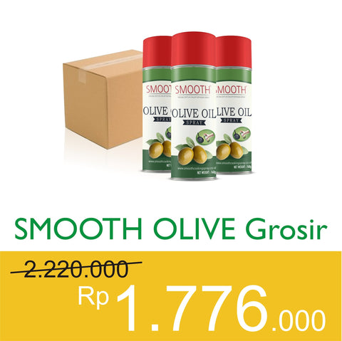 Business - SMOOTH Olive Grosir 1 DUS Isi 12 - Raja Indonesia