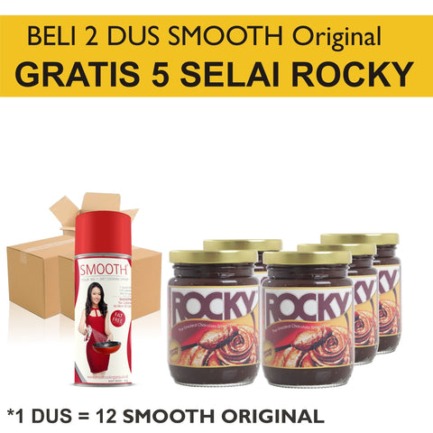 Business - SMOOTH Original Grosir Beli 5 DUS GRATIS 2 DUS! - Raja Indonesia