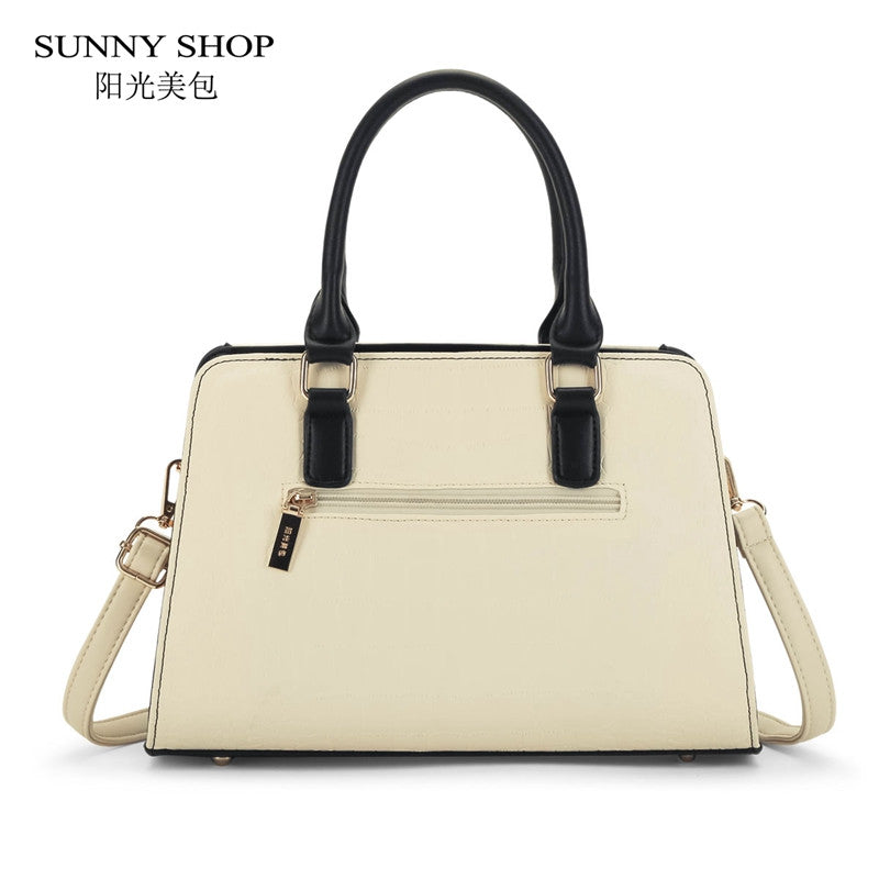 a91ba93c61aa ... SUNNY SHOP Brand New Women Bag Alligator Pattern Women Messenger Bags  American Handbags High Quality Shoulder ...