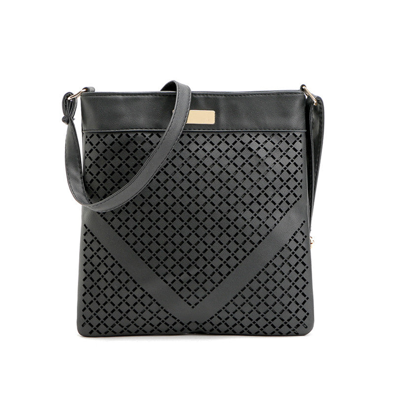cf00793c3 ... Small Casual women messenger bags PU Leather hollow out crossbody  shoulder bag ladies shoulder purse and ...