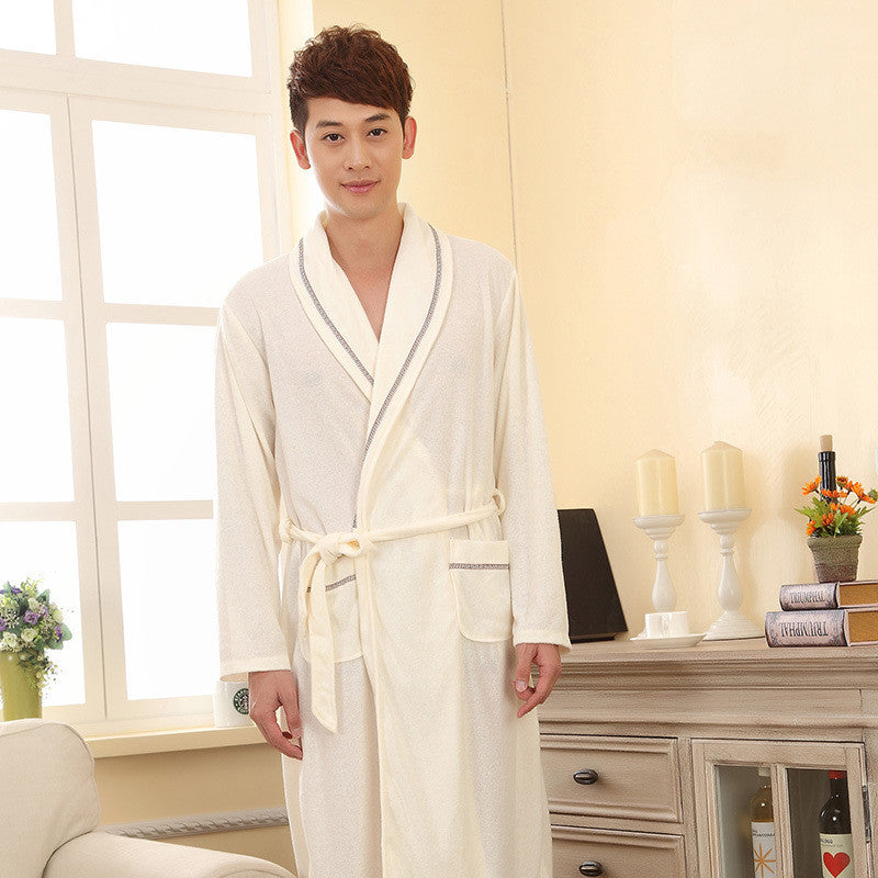 f8129890cef ... Spring Autumn Sexy Women s Sleep   Lounge Female Robes Plus Size Sleep  Tops Robes for Men ...