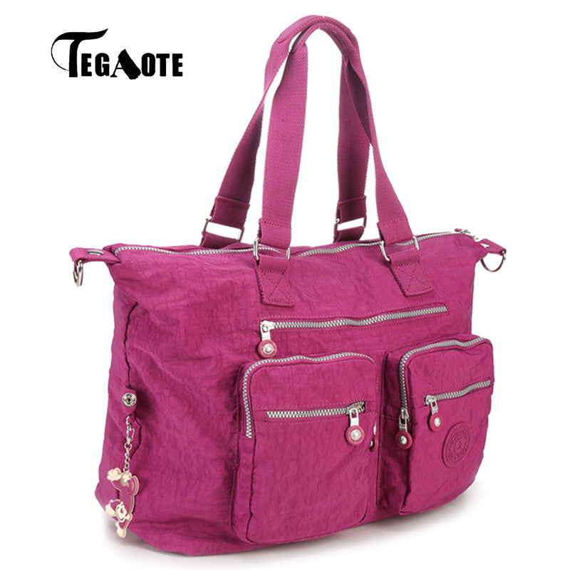 ff471e2e81 TEGAOTE 2017 Top-handle Bags Handbag Women Famous Brand Casual Tote Zipper  Female Shoulder Bag ...