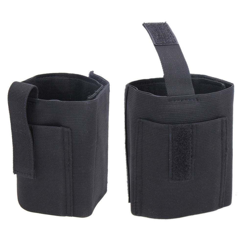 Tactical Gear Tactical Padded Concealed Ankle Holster Elastic Pistol Holster