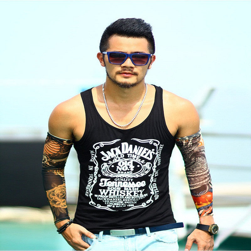 6cbf647844b165 Tank Top Men Bodybuilding Clothing and Fitness Mens Sleeveless Shirt V –  Raja Indonesia