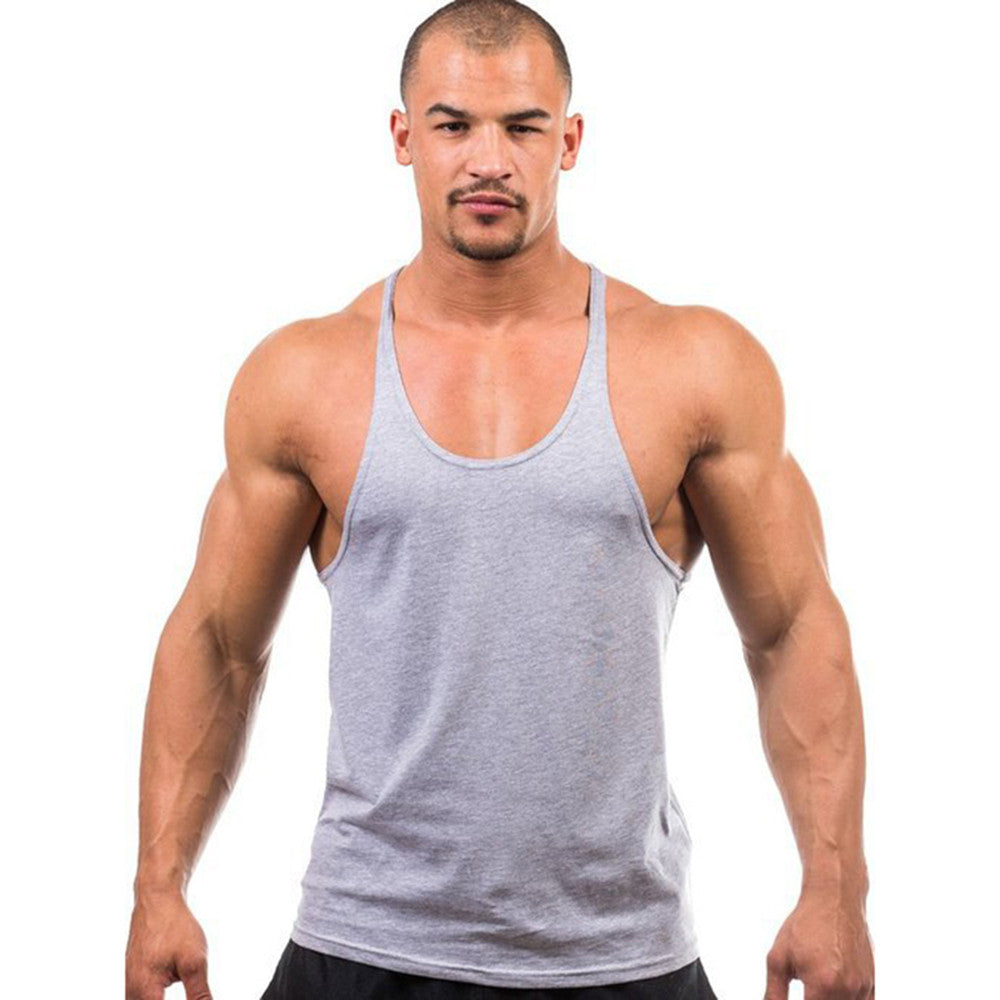 32dc2720d6282a Tank Top Mens Bodybuilding Tank Tops Fitness Singlets Clothing Vest Muscle  Sleeveless Shirt Gymshark Men Tank .