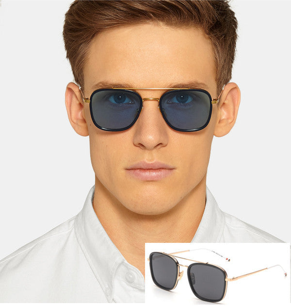 Todays Offers Brand Square Flat Top Mirror Sunglasses Men Vintage Casual  Women Sun Glasses Retro Shades ... febbf6543e