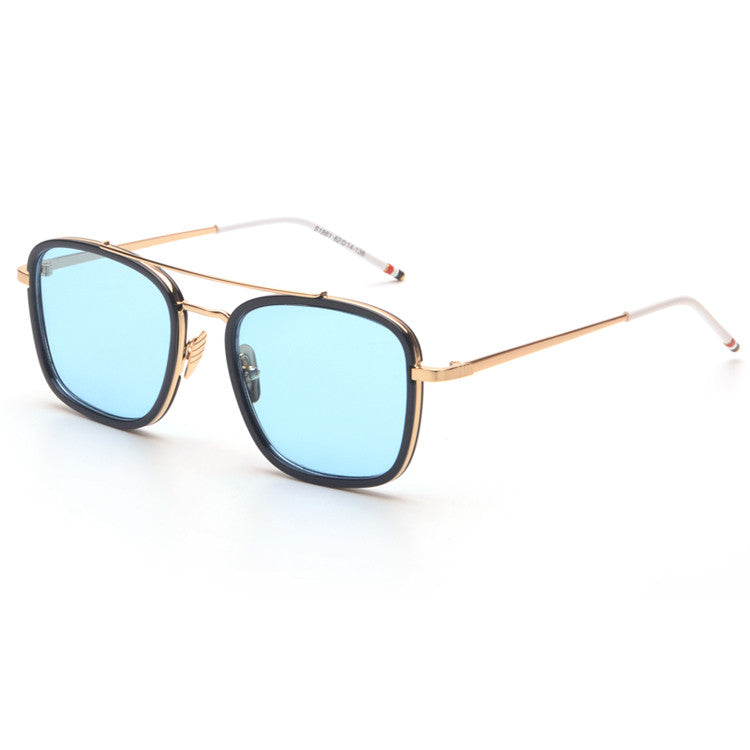 ... Todays Offers Brand Square Flat Top Mirror Sunglasses Men Vintage  Casual Women Sun Glasses Retro Shades ... 1024bec212