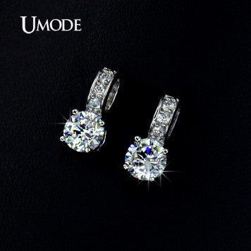 5364b4621a0d6 UMODE Brand Small Size Top Guality Classic Cubic Zirconia Stud Earrings For  Elegant Women Oorbellen UE0041