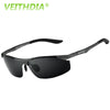 VEITHDIA Aluminum Magnesium Brand Designer Polarized Sunglasses Men Glasses Driving Glasses Summer 2017 Eyewear Accessories 6529