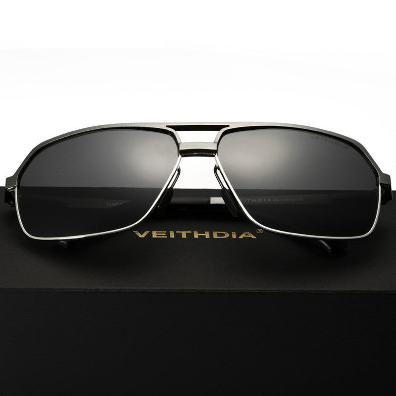 deb126cd1f ... VEITHDIA Men s Aluminum Magnesium Alloy Polarized Sunglasses Men Square  Vintage Male Sun glasses Eyewear Accessories Google ...