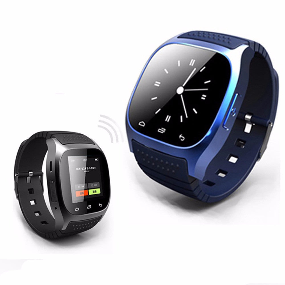 c9e6f72868c ... Waterproof Smartwatch M26 Bluetooth Smart Watch With LED Alitmeter  Music Player Pedometer For Apple IOS Android