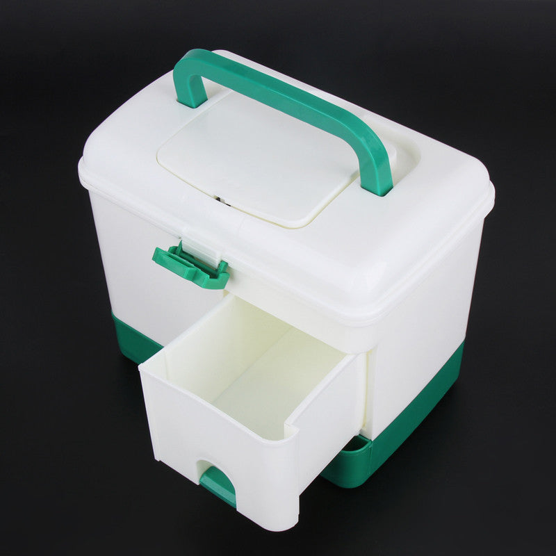 extra large household multi-layer first aid kit multifunctional