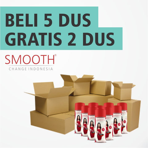 Promo grosir SMOOTH Cooking Spray 5 DUS Gratis 2 DUS - Raja Indonesia
