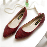 2016 Spring women flat Shoes Summer Casual shoes Pointed Toe flats slip on Women shoes woman Loafers 4 color zapatos mujer - Raja Indonesia