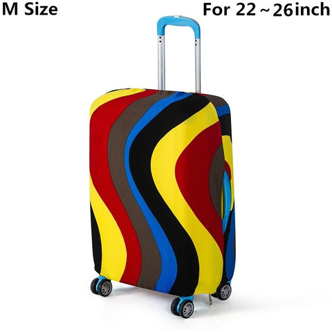 Travel on Road Luggage Cover Protective Suitcase cover Trolley case Travel Luggage Dust cover for 18 to 30inch