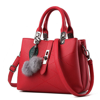 Tas wanita cantik Famous Designer Women Leather Handbags Luxury Ladies Hand Bags Shoulder Sac