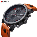 2016 CURREN Men Watches Luxury Casual Men Watches Men Analog Military Sports Watch Quartz Male Wristwatches Relogio Masculino - Raja Indonesia