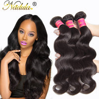 3Pcs/Lot 7A Peruvian Virgin Hair Body Wave 8-30inch Unprocessed Peruvian Body Wave Human Hair Wavy Peruvian Virgin Hair Weave - Raja Indonesia