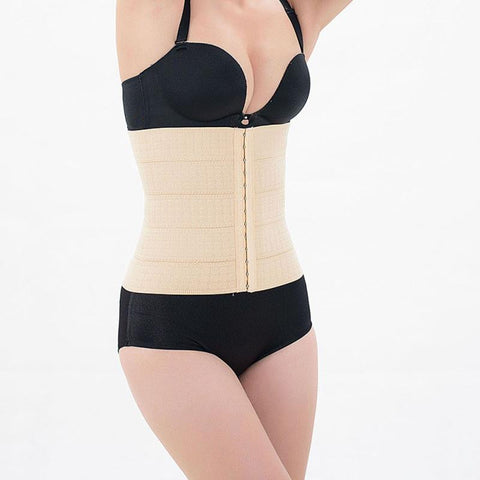 100% Latex Corset Waist Trainer Hollow Breathable Corset Body Shaper Abdominal Belt Waist Shaper Plus Size - Raja Indonesia