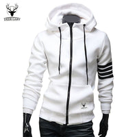2015 NEW Fashion Men Hoodies Brand Leisure Suit High Quality Men Sweatshirt Hoodie Casual Zipper Hooded Jackets Male M-3XL - Raja Indonesia