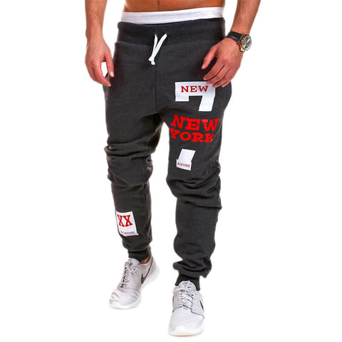 2015 Spring & Autumn Outdoors Cargo Loose Trousers Men Sweat Leisure Joggers Pants Slim Fit Sweatpants for Dance Leisure Pants - Raja Indonesia
