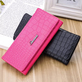 2017 Fashion Ladies Brand Handy Long Wallet Women Luxury Leather Credit Card Holder Money Wallets and Purse for Female Party - Raja Indonesia